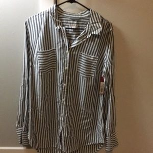 Brand New, Never Used Women's Striped Shirt